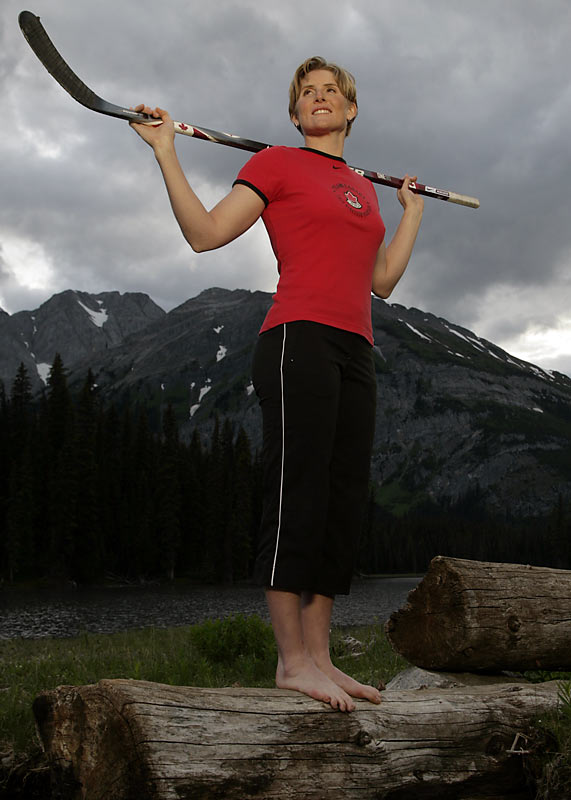 Canada's First Lady of Hockey was voted The Canadian Press female athlete of the year in 2007, making her the first hockey player to capture the award since it was created in 1933. The 29-year-old had eight goals and six assists at the women's world championships in 2007, winning another MVP award and her sixth world title as a member of Team Canada. She also helped Canada to a silver medal at the 2008 world championships.