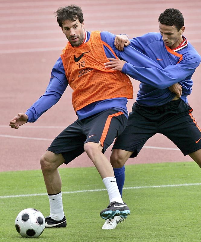 The prolific Dutch striker is eager to exorcise the memories of his nightmarish 2006 World Cup, when van Nistelrooy was substituted in each of Holland's three group matches and left off the lineup sheet for the team's knockout stage ouster at the hands of Portugal. He's since scored 31 goals in 61 appearances for two-time defending Spanish champions Real Madrid.