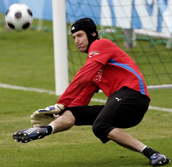 The 6-foot-5, 191-pound goalkeeper is expected to assume the captain's armband with the Czech team having lost incumbent skipper Tomas Rosicky for the tournament to a hamstring injury. The Chelsea stopper surrendered just five goals during qualifying and provides an intimidating last line of defense for a country ranked sixth in the FIFA world rankings.