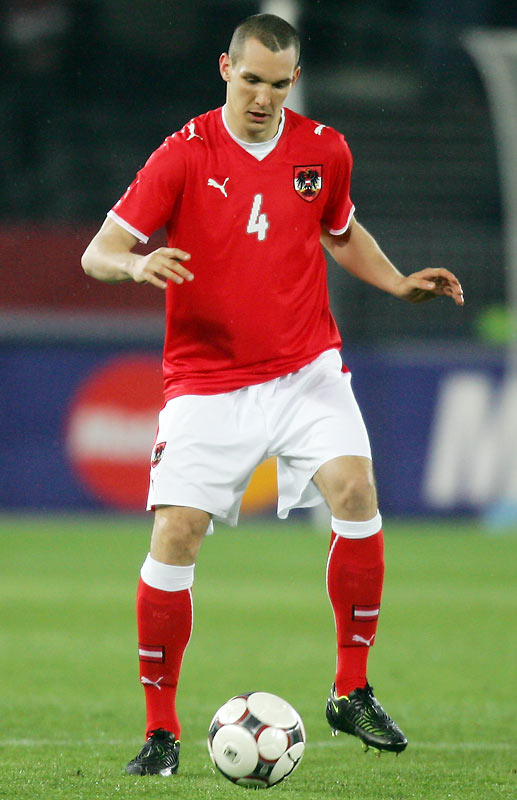 What Pogatetz lacks in technical skill, the industrious 25-year-old defender compensates for with a tireless work ethic. He's one of just a few Austrian players with experience in one of Europe's major leagues, having played the past three seasons with English Premiership club Middlesbrough.