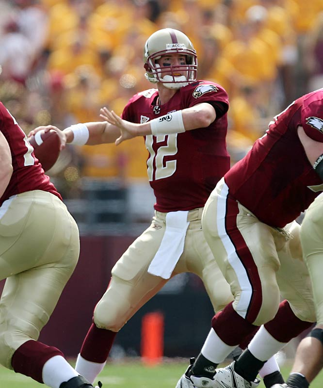 Ryan led BC to three bowl wins and its first ACC title game, smashing the school's season passing records for yards (4,507), completions (388), and touchdowns (31) in his senior season. In April, he became the school's highest professional draft pick in any sport when he was drafted No. 3 by the Atlanta Falcons.