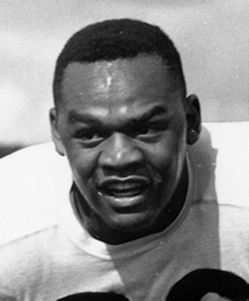 The first African-American drafted by an NFL team, Taliaferro did it all for the Hoosiers. A three-time All-America, Taliaferro led the Hoosiers in rushing twice, punting in 1945 and passing in 1948. He helped lead the 1945 team to an undefeated season and a Big Ten championship. Taliaferro helped break the color barrier in sports, playing for the Hoosiers two years before Jackie Robinson suited up for the Brooklyn Dodgers.
