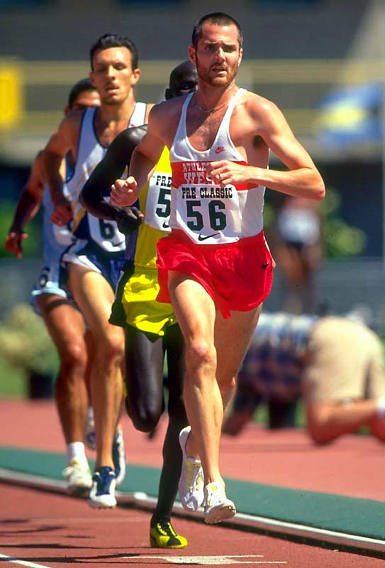 Kennedy is one of the greatest U.S. distance runners in history. At Indiana, he won the NCAA 1,500 meter championship in 1990 and the indoor NCAA mile championship in '91. He also began and finished his collegiate career as the NCAA cross country champion. A winner of 16 Big Ten track titles, Kennedy still holds the American record in the 3,000- and 5,000-meter races.