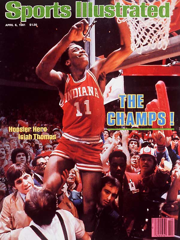 Thomas only played two seasons at IU before leaving early for the NBA Draft. In 1981, he led the Hoosiers to an NCAA title and was named the tournament's Most Outstanding Player. During his final season at IU, Thomas was named an All-American and set the school record for assists in a season. He was named one of the 50 Greatest Players in NBA History and won back-to-back NBA titles with the Detroit Pistons.