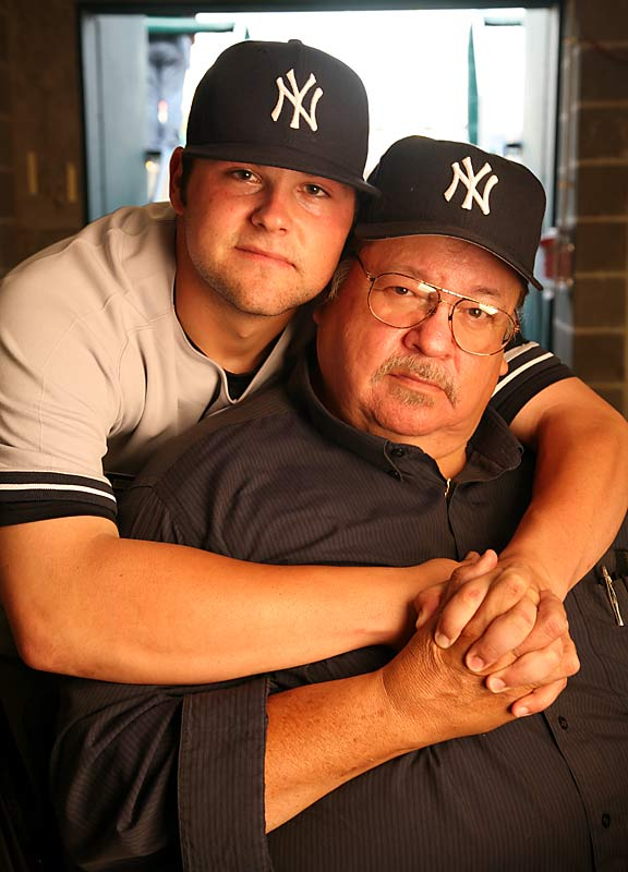 Raised by his single father, who is also his best friend, Yankees young ace Justin (Joba) Chamberlain accredits much of his baseball tenacity to his dad, Harlan.
