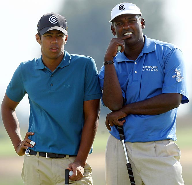 Growing up with a father who had a fondness of the sport, Hall of Fame golfer Vijay Singh tries to show his son Qaas the finer things of the sport as they compete together in a father-son challenge.
