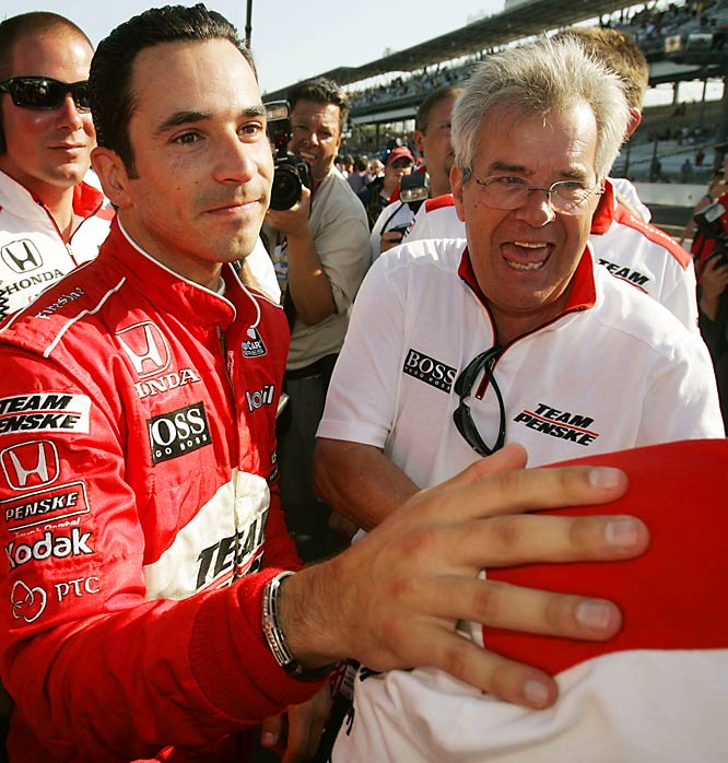 Driver Helio Castroneves lives out his father's dream as a champion on the track. When he was 18, Helio began his career driving for Helio Castroneves Sr.'s stock car team.