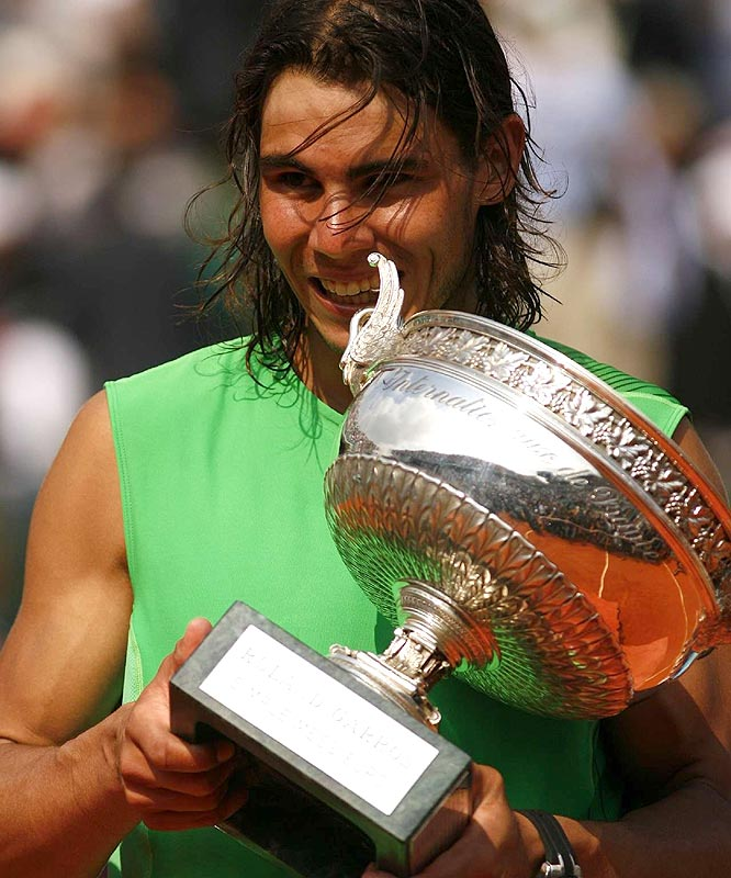 The King of clay has a four-year reign that doesn't look to be interrupted any time soon.