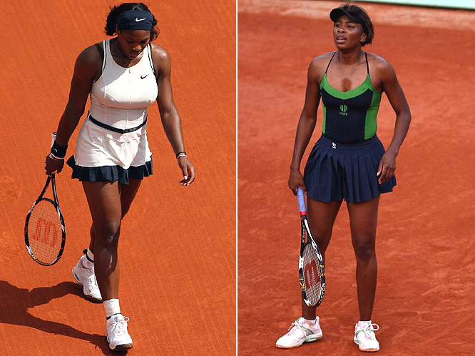 The bad news: the sisters were eliminated by the end of Week One. The good news: Wimbledon is just two weeks away.
