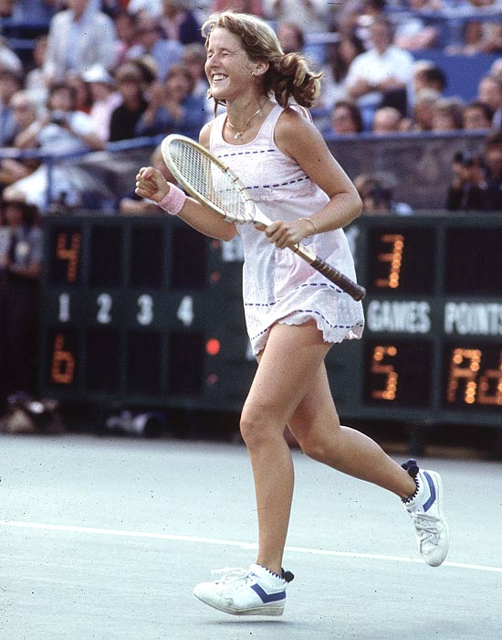 Tracy Austin, 29, becomes the youngest inductee into the International Tennis Hall of Fame.