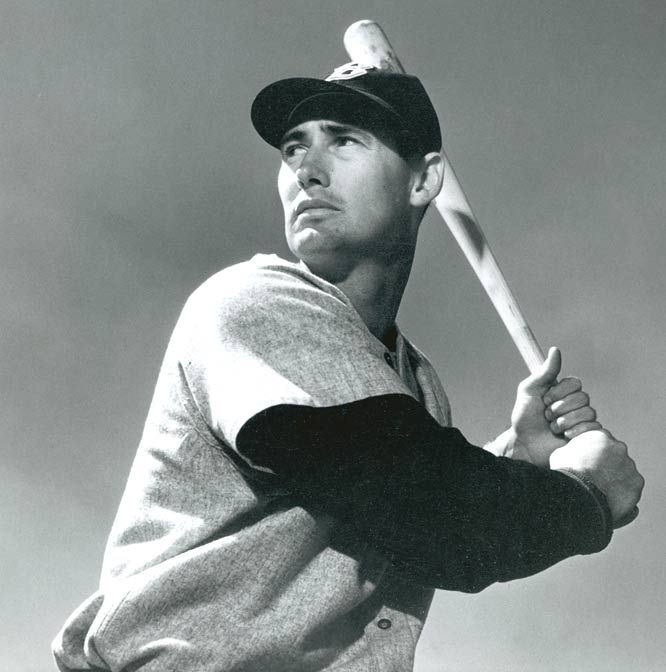 Red Sox outfielder Ted Williams becomes the first American Leaguer to have two three-homer games in one season. The 'Splendid Splinter' drives in five runs helping Boston to defeat the Indians, 9-3.