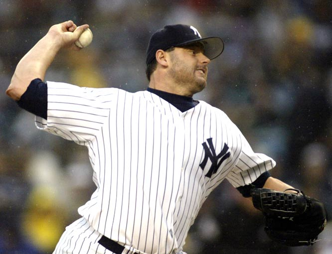 On his fourth attempt, Roger Clemens becomes the 21st pitcher and the first since 1990 to record 300 career wins as the 40-year-old righty goes 6 2/3 innings in the Yankees' 5-2 victory over the Cardinals.