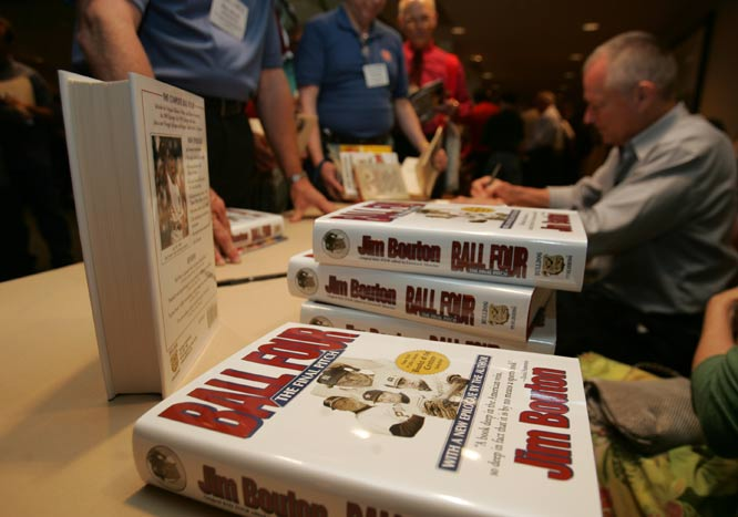 Jim Bouton's controversial <i>Ball Four</i> is published. The book was the first behind-the-scenes look at professional baseball and was considered a detriment to the sport by then-Commissioner Bowie Kuhn.