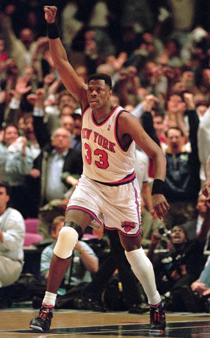 New York, led by Patrick Ewing's 24 points and 22 rebounds, defeats Indiana, 94-90, at Madison Square Garden in Game 7 of the Eastern Conference Finals. The victory sends the Knicks to the NBA Finals for the first time since 1973.