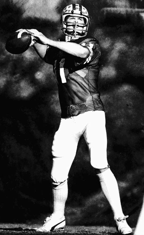 Known as the ''Miracle Bowl,'' the 1980 Holiday Bowl featured a dramatic, 21-point fourth-quarter comeback by BYU and quarterback Jim McMahon, who teamed up with tight end Clay Brown on a game-winning Hail Mary.