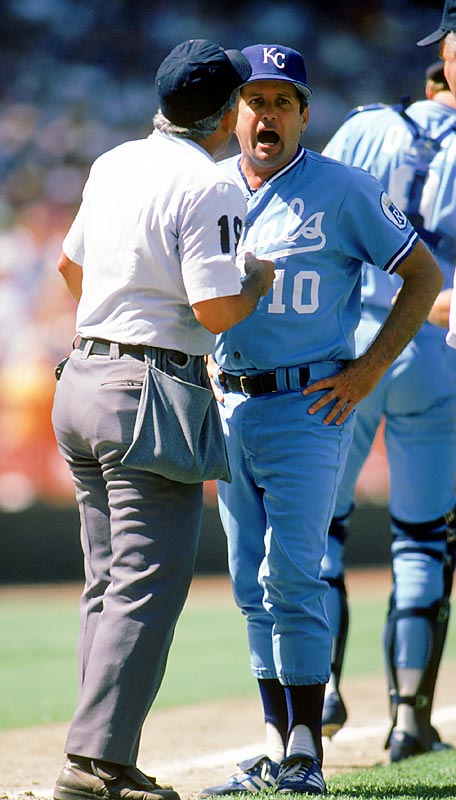Despite being in first place at 10-10 after the players' strike, the Royals fired Jim Frey after not seeing enough improvement from the team's fifth-place finish (20-30) in the first half. Dick Howser replaced Jim Frey, keeping the team on top of the division and leading led them to an AL West victory before being swept in the ALDS by Oakland.