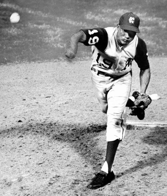 He was the first of four players to play all nine positions in one game, doing so in September 1965 as part of a special promotion. He also pitched ambidextrously in that game, throwing left-handed to lefties and switching to the right side against right-handed batters.