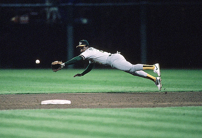 In his 18-year career the switch-hitting Phillips played second base (777 times), left field (566), shortstop (294), right field (169) and designated hitter (101). He started his career with the A's, where he was part of the 1989 world championship team.