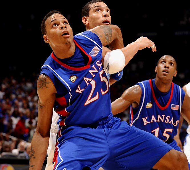 A big guard (6-6, 210 pounds), Rush is physically ready for the NBA. Along with being a strong defender, Rush shot better than 40 percent from three-point range all three seasons at Kansas, where he won a national championship as a junior.