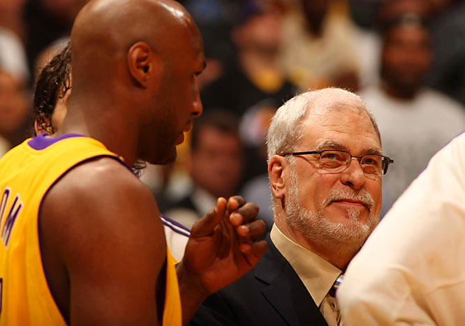 Phil Jackson's complaints about unbalanced officiating paid off, as the Lakers enjoyed 34-22 edge in free-throw attempts.