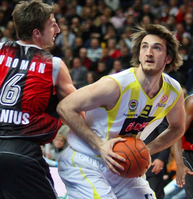 Erden, who turns 22 a month after the draft, averaged 6.7 points and 4.3 rebounds in 19.3 minutes in 15 Euroleague games last season.  At 6-11, 240 pounds, he has a similar build to Turkish teammate and fellow draft prospect Omer Askik.
