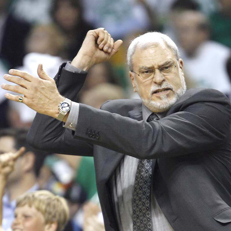 Phil Jackson has another golden chance to become the all-time coaching leader in NBA titles, with 10 (surpassing Red Auerbach, the late and legendary Celtics patriarch).
