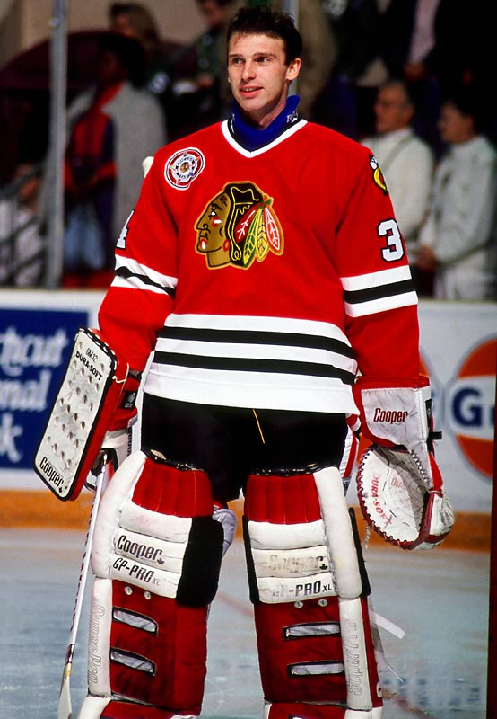 Hasek finally joined the Blackhawks in 1990, only to spend most of two seasons in the minors or on the bench as Ed Belfour's backup. He played in 25 NHL games, going 13-4-2 with a 2.08 goals-against-average that hinted of the excellence to come.