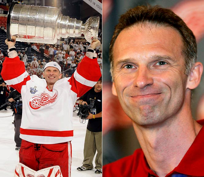 After the Red Wings defeated the Pittsburgh Penguins in six games for the Stanley Cup, Hasek announced his retirement after 16 seasons, citing a lack of motivation to keep playing. The certain Hall of Famer leaves with 389 wins (tied for 10th all-time), 81 shutouts (tied for 6th), a 2.20 GAA and .922 save percentage.
