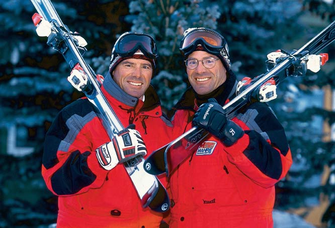 The fraternal twins dominated alpine skiing during the '70s and '80s, with strong performances on the World Cup and Olympic stages. Phil and Steve took home the gold and silver medals, respectively, in the slalom at the 1984 Winter Olympics in Sarajevo.