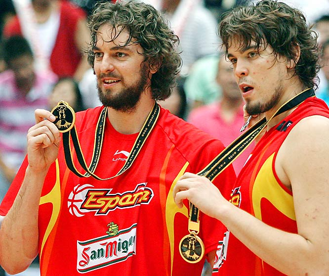 From NBA Rookie of the Year to All-Star to MVP of the 2006 FIBA World Championship, Pau's growing resume continues to impress. He's now in his sixth season with the Lakers while brother Marc is in his fifth with the Memphis Grizzlies.
