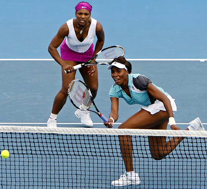 As two of the most successful women's players of their generation, Venus and Serena have combined to win 24 grand slam singles titles, while each has spent a significant stretch ranked No. 1 in the world. They are 13-0 as Grand Slam doubles partners.