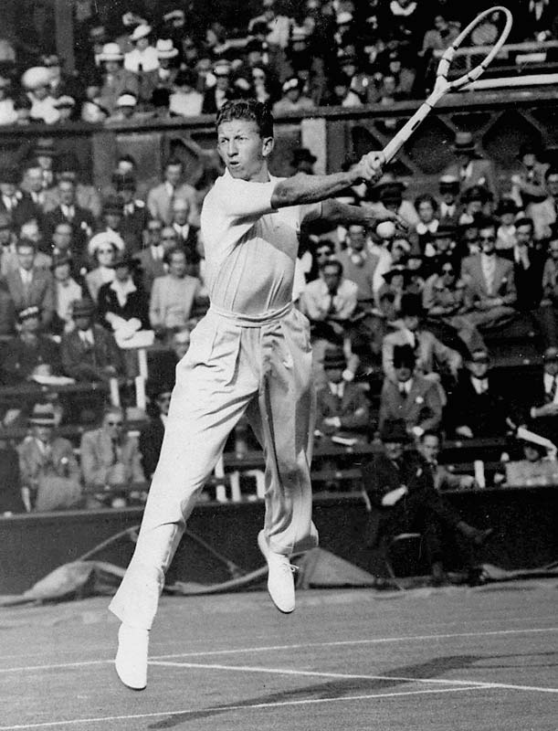 With his convincing 6-3, 6-2, 6-4 win over Roderik Menzel in the final of the 1938 French Championships, Budge completed a Career Grand Slam and turned professional shortly thereafter.