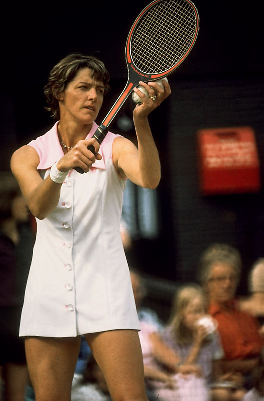 Court completed a Career Grand Slam at Wimbledon in 1963, dispensing of Billie Jean King in the final, 6-3, 6-4. Seven years later, the Australian would become the first woman in the Open Era to win all four majors in the same calendar year.