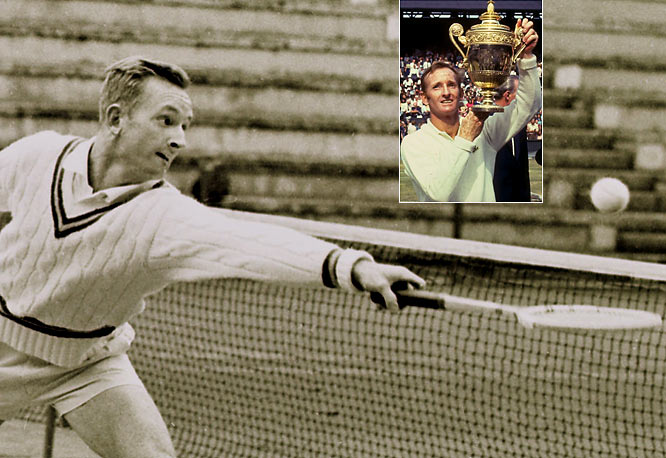 Still playing as an amateur, Laver completed Grand Slams for a career and a calendar year with a 6-2, 6-4, 5-7, 6-4 victory over Roy Emerson in the 1962 U.S. Open final. Seven years later, Laver would become the only player in history to twice complete Grand Slams in a calendar year, this time competing as a professional.