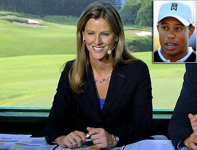 "<italics>While handling play-by-play duties during the PGA Tour's season opener in January, Kelly Tilghman said that today's young players should</italics> ""lynch Tiger Woods in a back alley."""