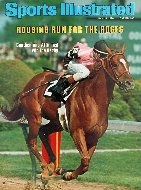 The great-great grandson of Triple Crown winner War Admiral, Affirmed battled with Alydar in all three races, beating his rival by 1 1/2 lengths in the Derby, a neck in the Preakness, and a nose in the Belmont.