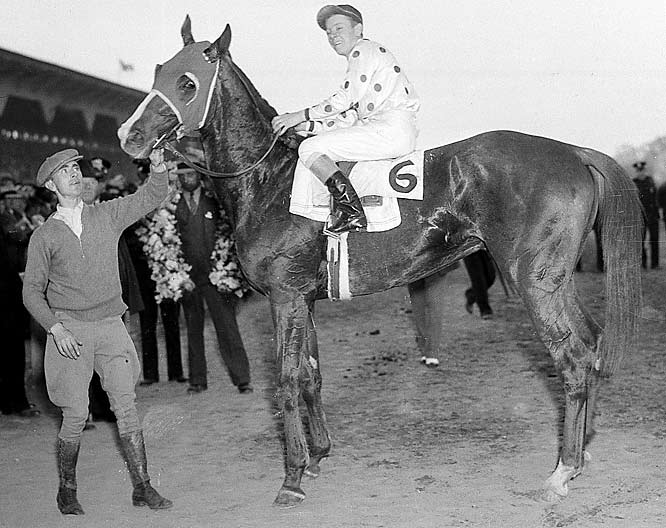 Although he only won one race as a two-year old, the son of Gallant Fox lived up to expectations the following year.