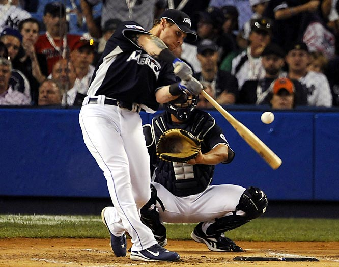 While Justin Morneau was the official winner, it was Josh Hamilton who captured the hearts of Yankee Stadium fans, clubbing a Derby-record 28 homers in the first round.