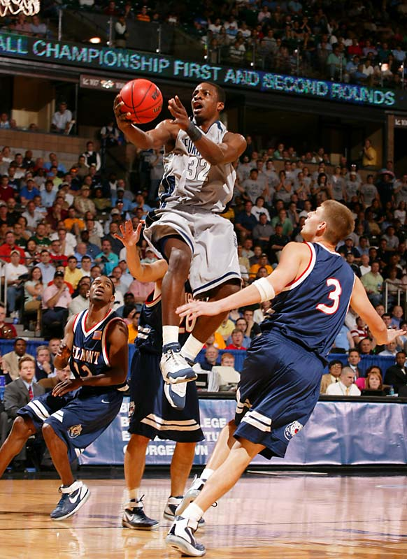 The current SuperSonic picked up a selection of honors during his time in D.C.  During his final college season, Green was named the NCAA East Regional MVP, Big East Player of the Year and Big East Tournament MOP.  At Georgetown, he led the team in scoring his final two years (11.9 ppg, 14.3 ppg) and cemented his position as a top Hoya in 2007 when he led the team to its first Final Four appearance since 1985.