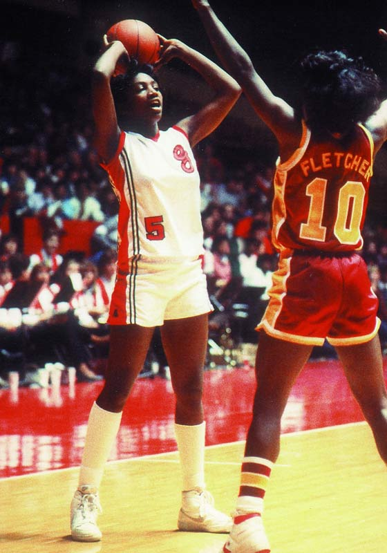 Edwards carried the Bulldogs to two Final Fours and a 116-17 record during her four-year career at Georgia. A two-time consensus All-America, Edwards is also the only U.S. basketball player -- male or female -- to have played on five U.S. Olympic teams. Running the point, she led America to five gold and one bronze medals.