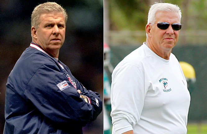 Parcells' first two comebacks worked out well: he led the Patriots to a Super Bowl in 1996, just three years after taking over as head coach, and Jerry Jones lured Parcells out of a three-year retirement in 2003 to coach the Cowboys to three winning seasons in four years. Success in his third comeback attempt, turning around Miami, also came easily as The Big Tuna assumed the Executive Vice President of Football Operations position and led the Dolphins from a 1-15 record to an 11-5 mark and the 2008 AFC East crown.