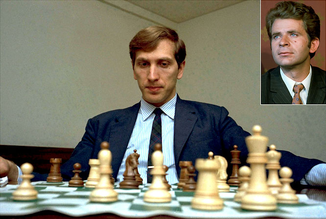 With a Time magazine cover pumping up the Cold War geopolitical implications of the match, Fischer became the first competitor from outside the Soviet Union to earn the right to challenge for the championship. Fischer won, and after not playing competitive chess for 20 years, returned in 1992 to challenge Spassky. Again, Fischer won.