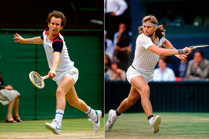 Meeting in back-to-back finals at both Wimbledon and the U.S. Open, McEnroe won three of the four matches, also breaking Borg's five-year Wimbledon reign in 1981. Borg's five-set win over McEnroe in the 1980 Wimbledon final is considered one of the greatest tennis matches of all time.