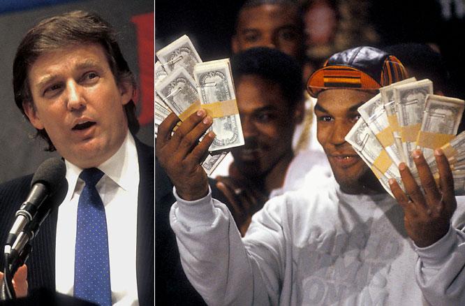 Mike Tyson hires Donald Trump as an advisor