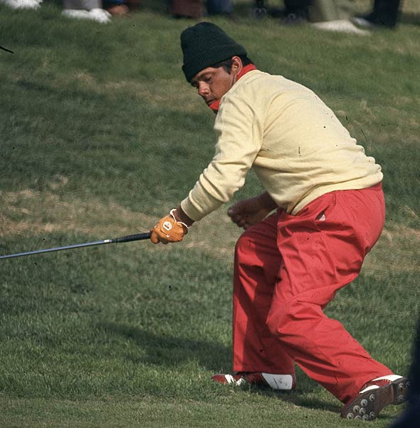 Lee Trevino captures his second British Open title at Muirfield Gullane.