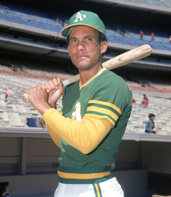 Kansas City's Bert Campaneris (pictured here with the Athletics in 1968) homers off Twins' Jim Kaat on the first major league pitch he ever sees.