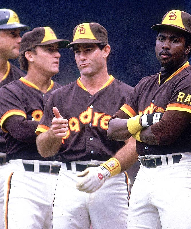 Due to a dislocated thumb caused by a collision at home plate in the first game of a doubleheader against the Braves, Padres' first baseman Steve Garvey sees his consecutive game streak ends at 1,207.