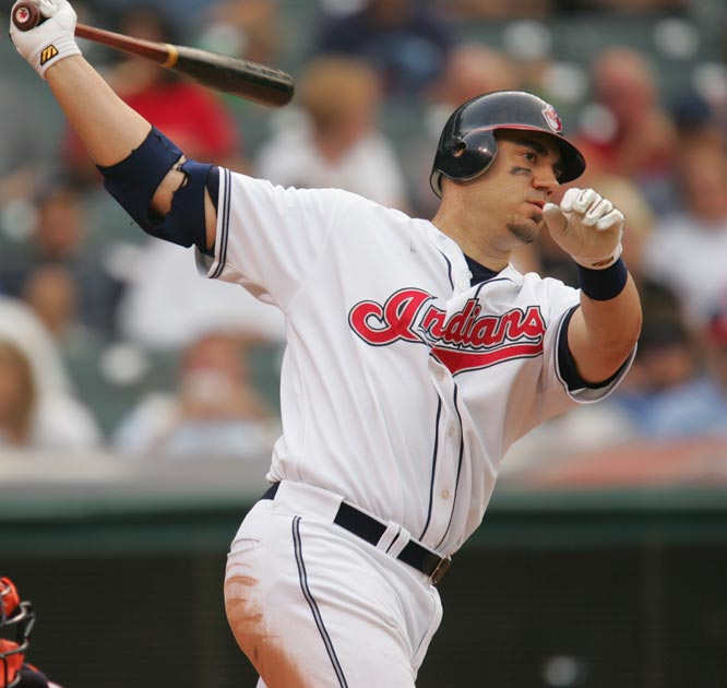 With his fifth grand slam of the season, Travis Hafner breaks the team record for grand slams in a season. The Indians' designated hitter had shared the record with Al Rosen, who hit four bases full home runs for Detroit in 1951.