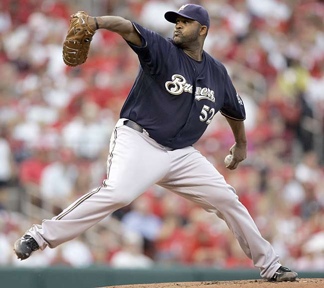 The Brewers, in an effort to reach the post-season for the first time since 1982, trade four highly touted farm hands to the Indians to obtain, CC Sabathia. Milwaukee sends their first-round draft pick last year, Matt LaPorta, along with minor league pitching prospects Zach Jackson and Rob Bryson, as well as Taylor Green (identified as the player to be named later), who was Milwaukee's minor league player of the year to Cleveland for the 2007 American League Cy Young Award winner.