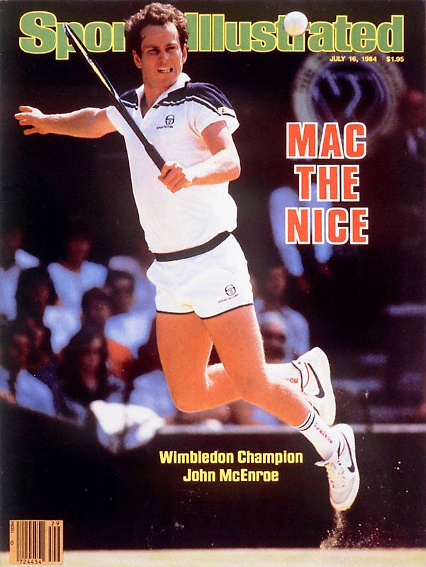 John McEnroe beats Jimmy Connors to claim his third Wimbledon title.
